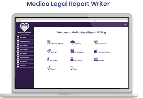 medical legal reporting software